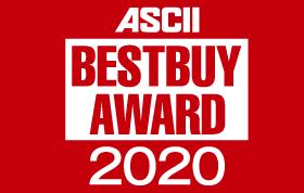 ASCII BESTBUY AWARD