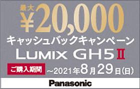 LUMIX GH5 II キャッシュバックキャンペーン