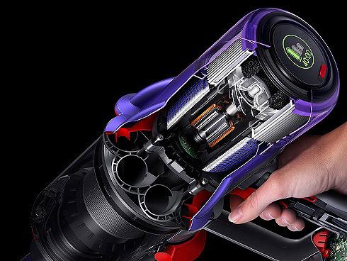 Dyson Hyperdymiumモーター 軽量でパワフルな設計