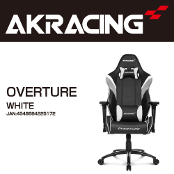 AKRACING OVERTURE-WHITE